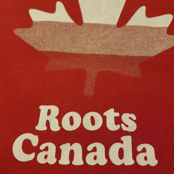 Roots Kids Other - Red Roots Canada shirt